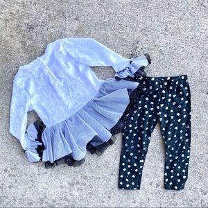 Little Lass Matching Sets - Iittle lass ghost outfit